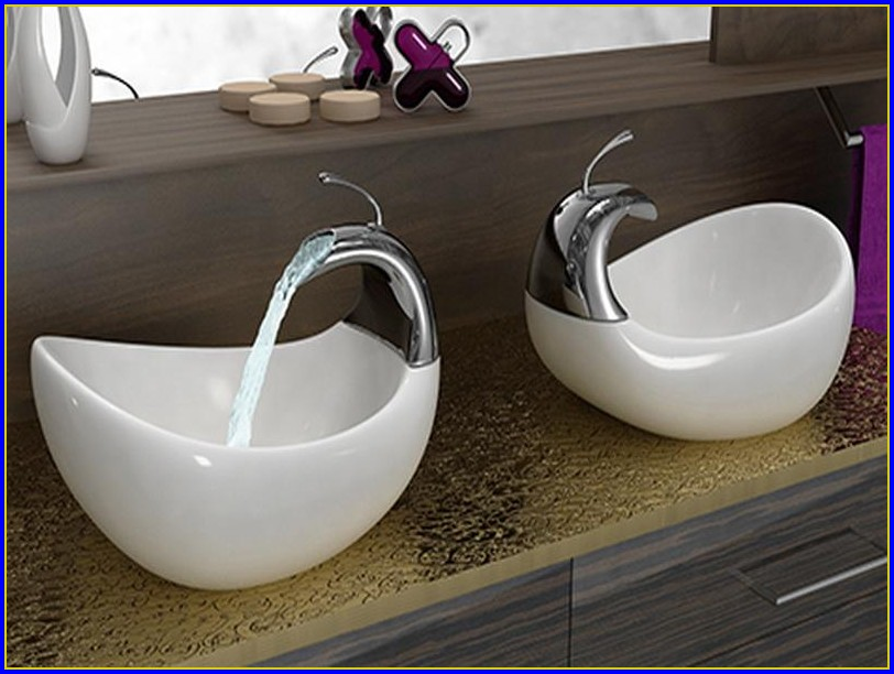 Vessel Bathroom Sinks With Faucet