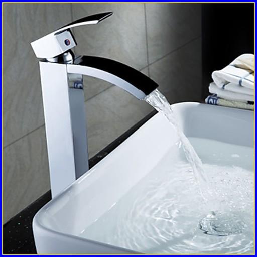 Waterfall Bathroom Faucet Bronze