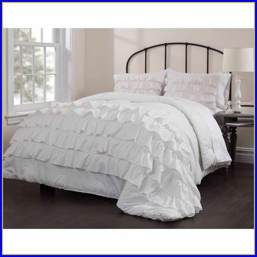 White Ruffle Bedding Target