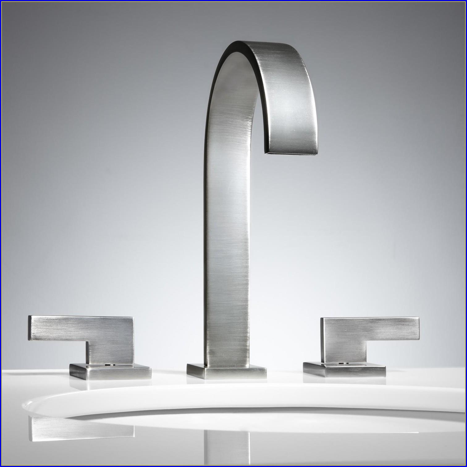 Widespread Bathroom Faucet Bronze
