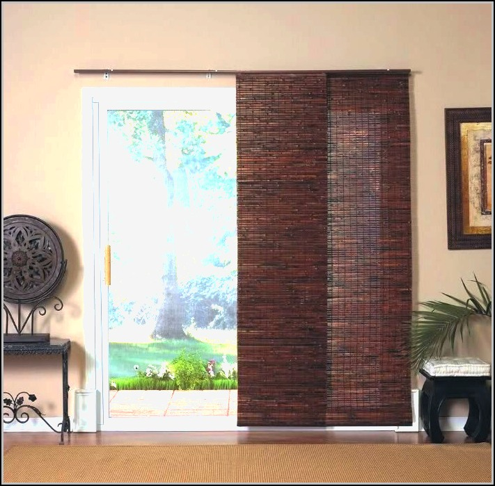 Wooden Patio Door Blinds