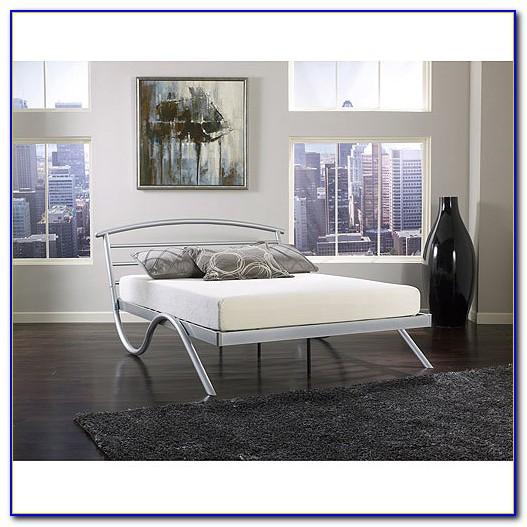 14 Metal Platform Base Bed Frame Queen