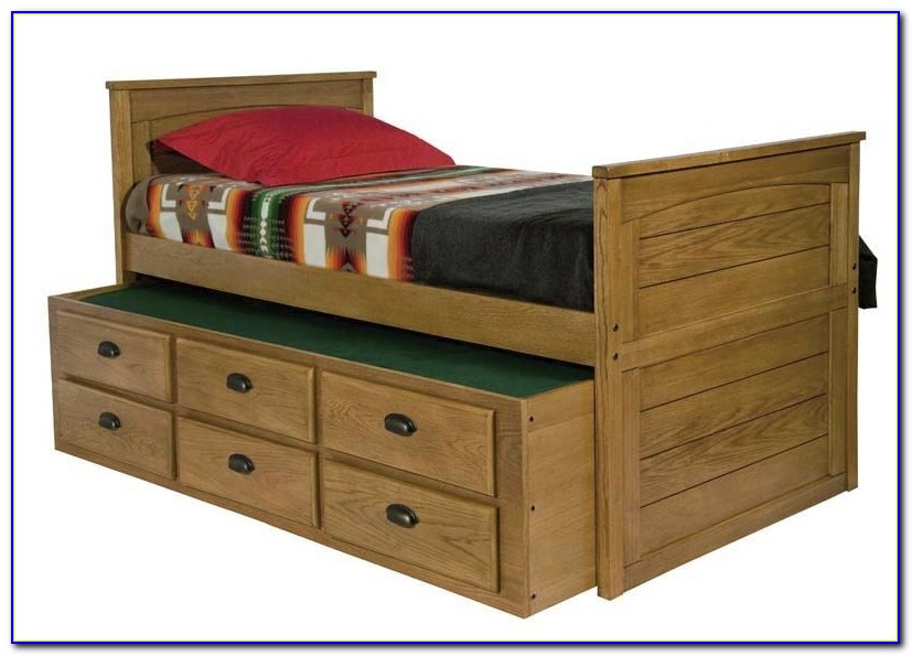 Bed With Drawers Underneath Queen