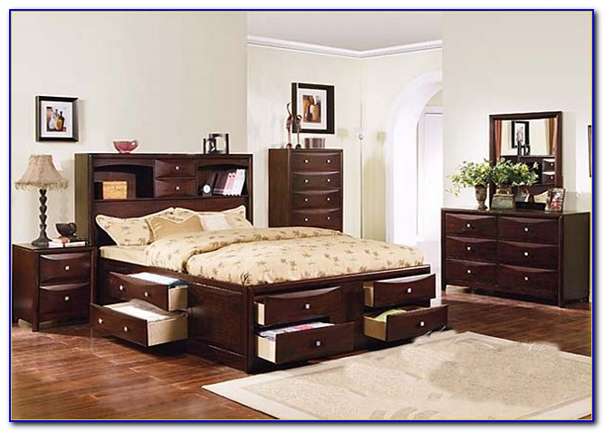 Bed With Drawers Underneath Twin