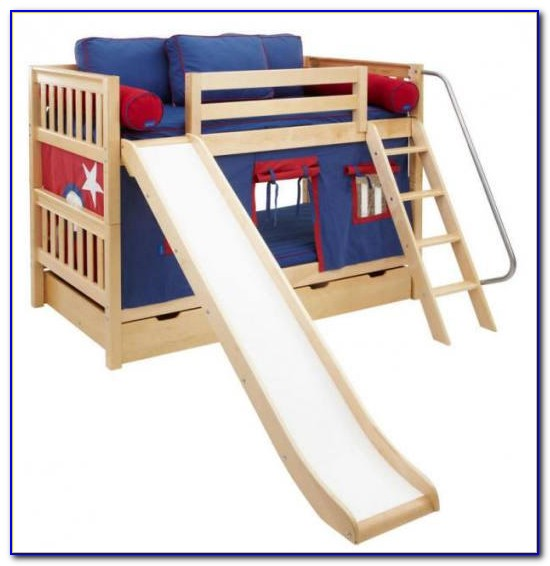 Bunk Bed Slide Plans