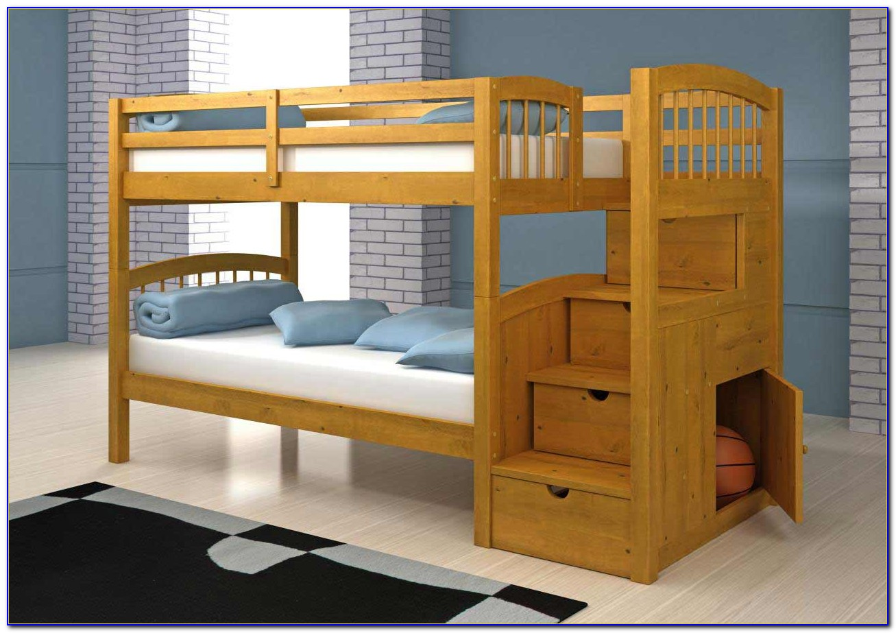 Bunk Bed Stairs Drawers