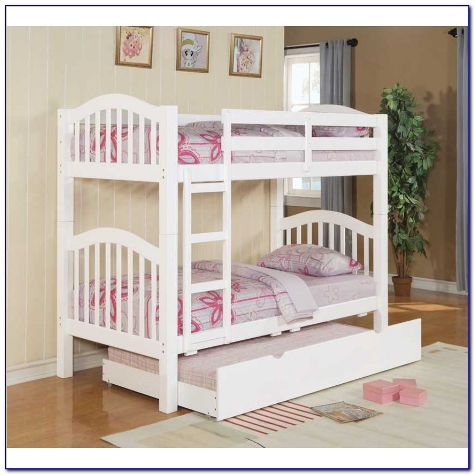 Bunk Bed Trundle Storage