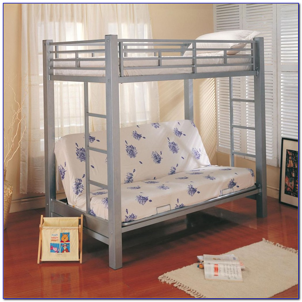 Bunk Beds With Futon And Desk