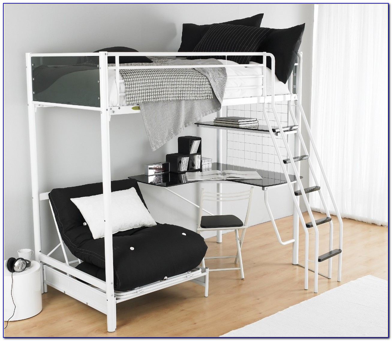 Bunk Beds With Futon Underneath