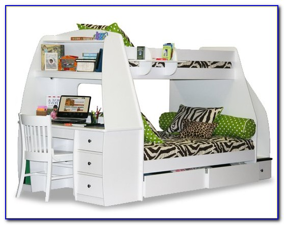 Bunk Beds With Storage Stairs And Desk
