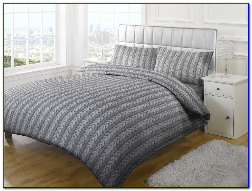 Cable Knit Bedding Queen