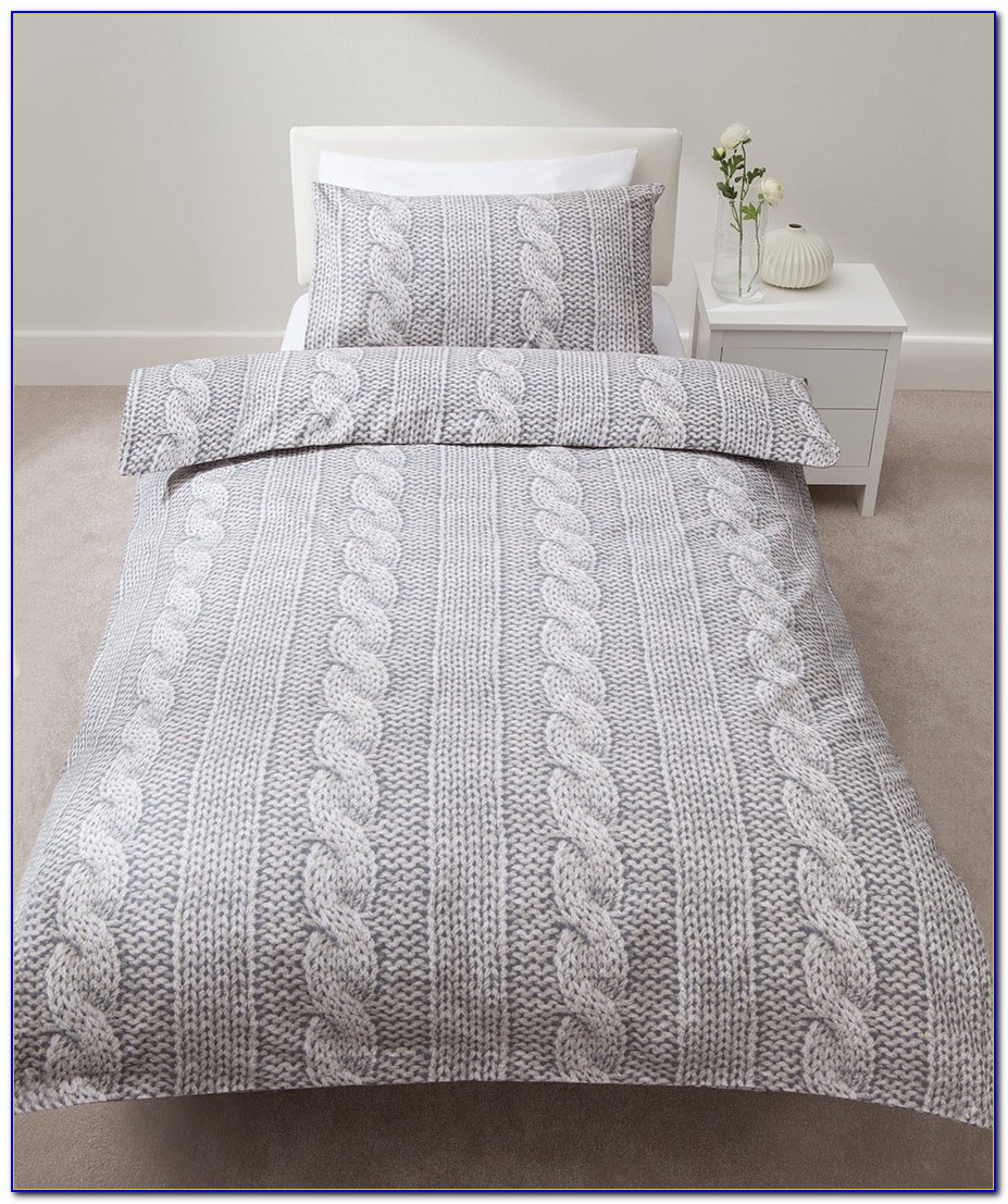 Cable Knit Bedding Twin