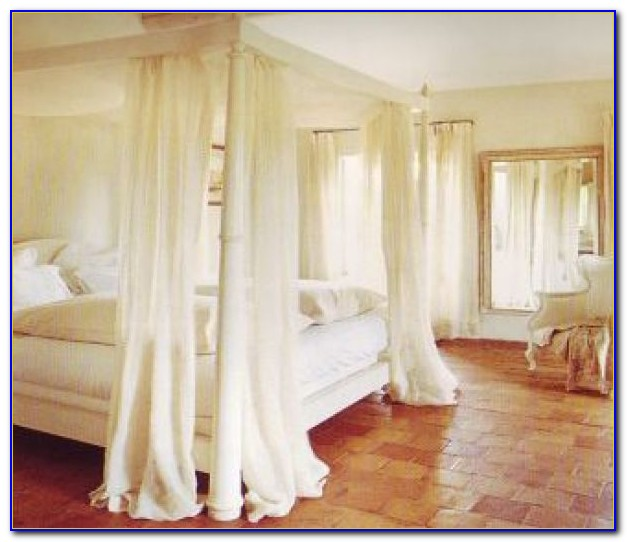 Canopy Bed Drapes Curtains