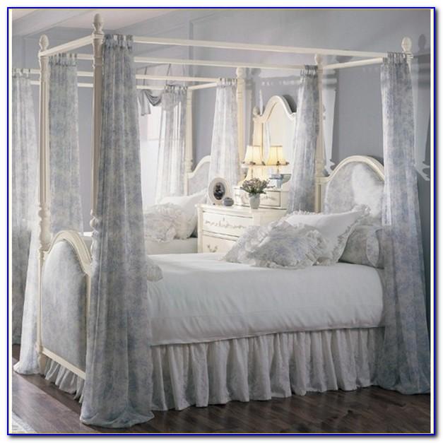 Canopy Bed Drapes Photos