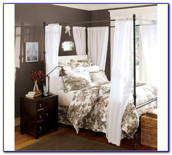 Canopy Bed Drapes Target