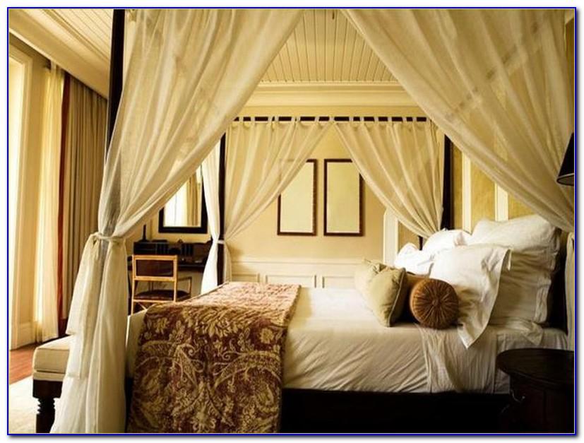 Canopy Bed Drapes Uk