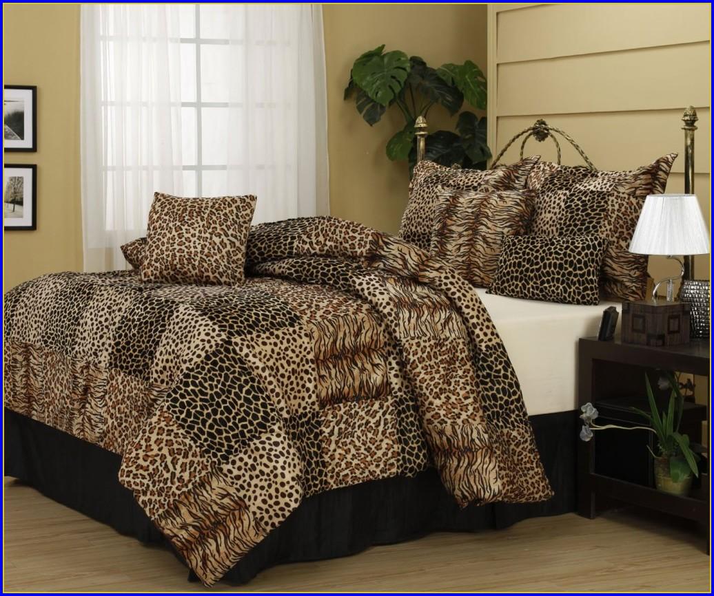 Cheetah Print Bedding King Size