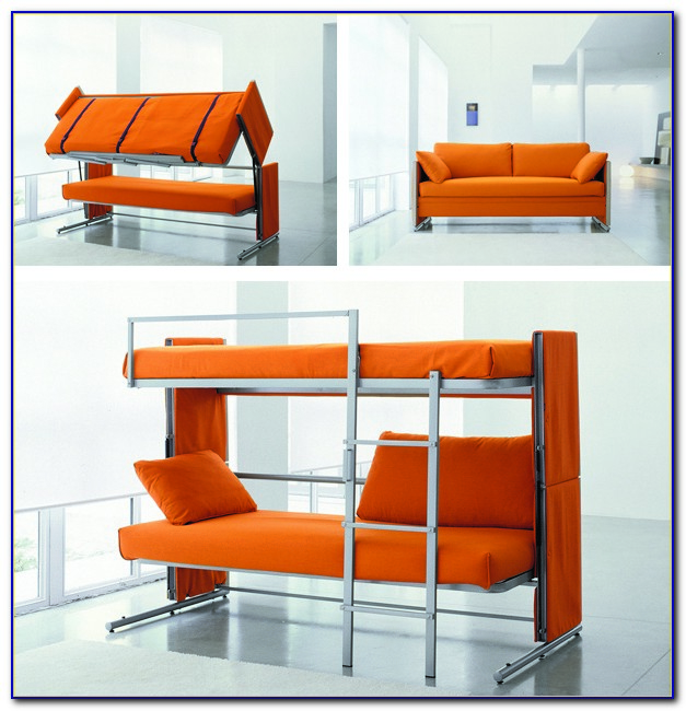 Couch That Turns Into Bunk Beds Video