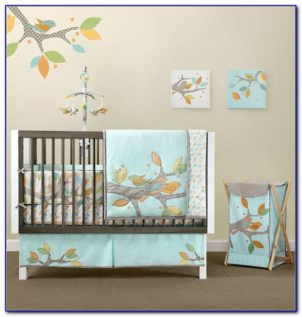 Custom Gender Neutral Crib Bedding