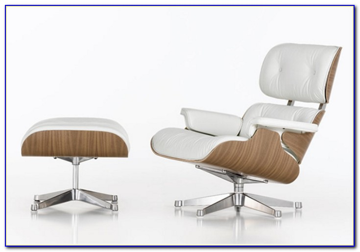 Eames Lounge Chair White