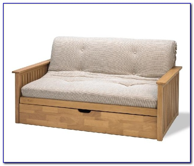 Futon Couch Bed Wood