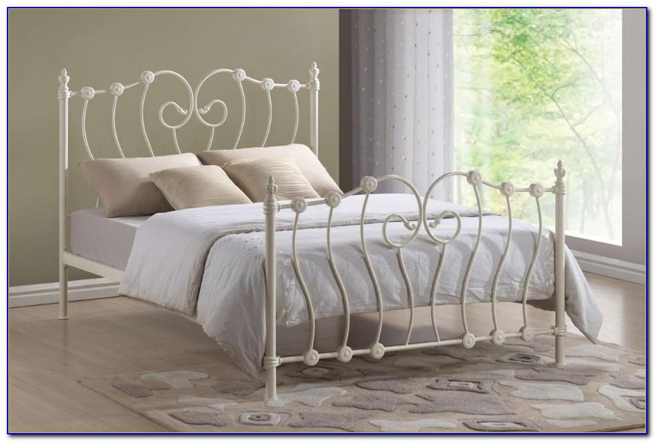 Ikea Metal Bed Frame White