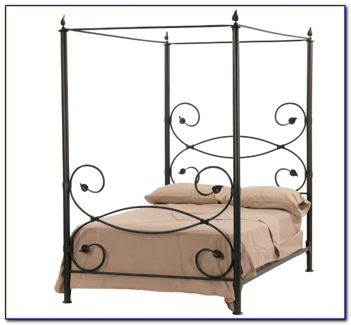 Iron Canopy Bed Australia
