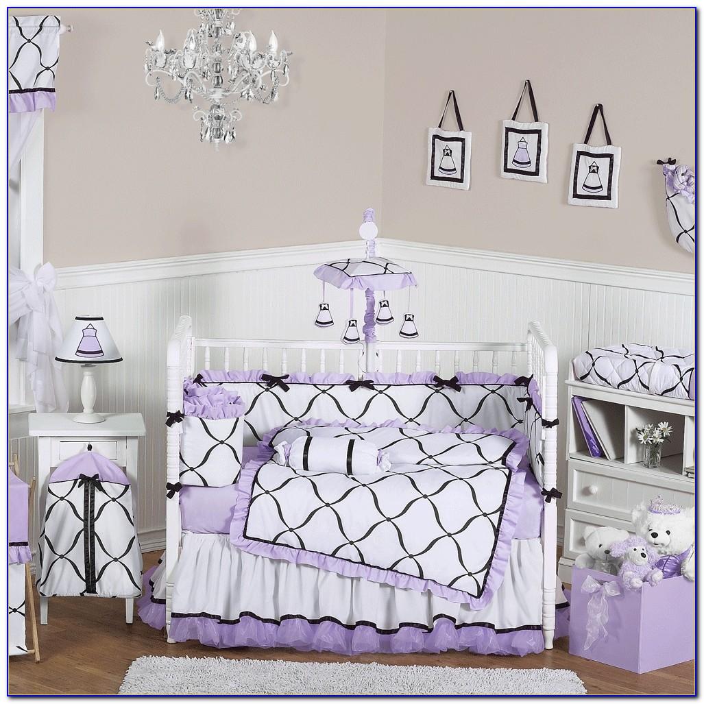 Lavender Crib Set