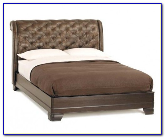 Leather Sleigh Bed Gumtree