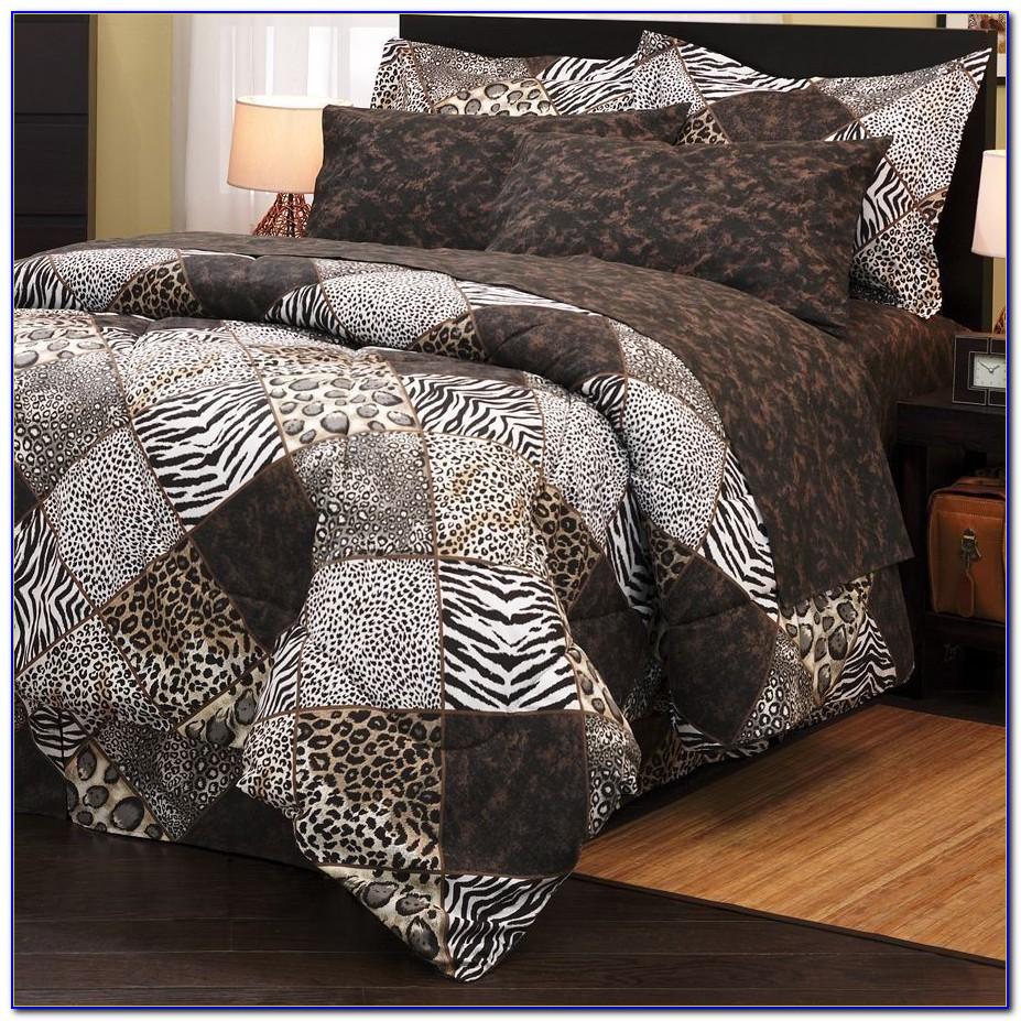 Leopard Print Bedding Ebay