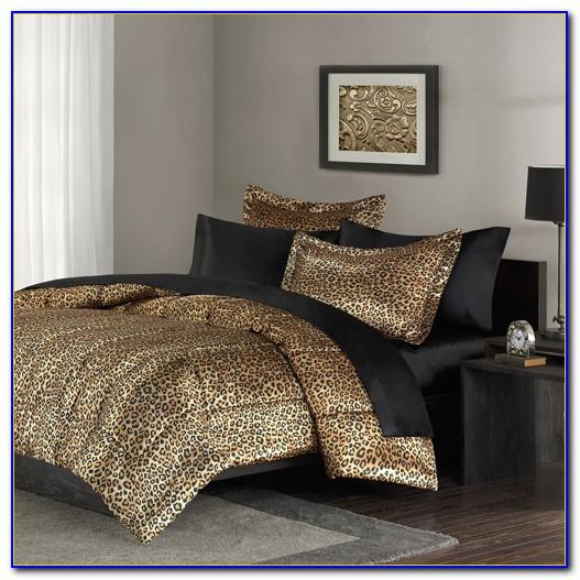 Leopard Print Bedding Set