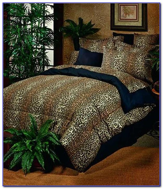 Leopard Print Bedding Single