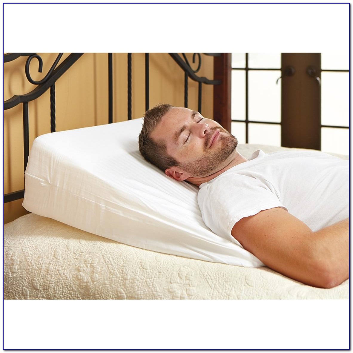 Memory Foam Wedge For Bed