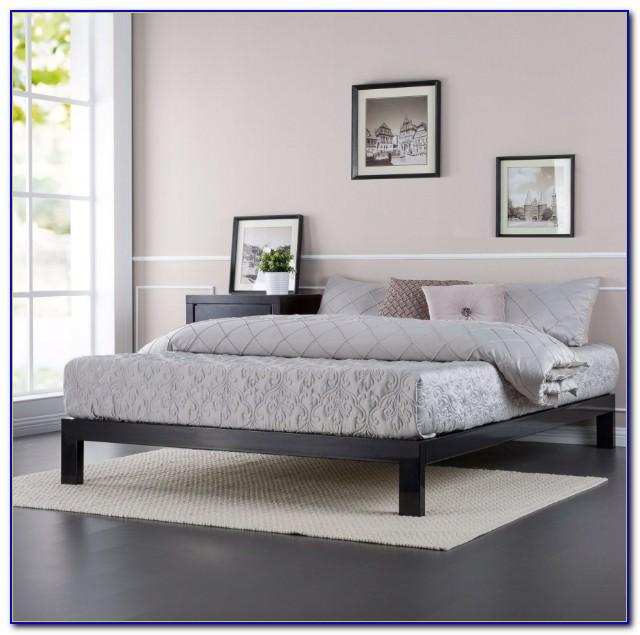 Metal Platform Bed Queen Size