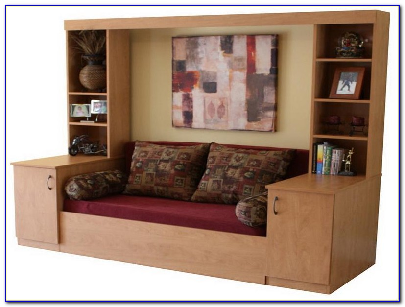 Murphy Bed With Couch Ikea