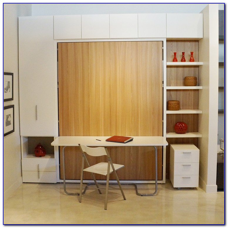 Murphy Bed With Desk Images
