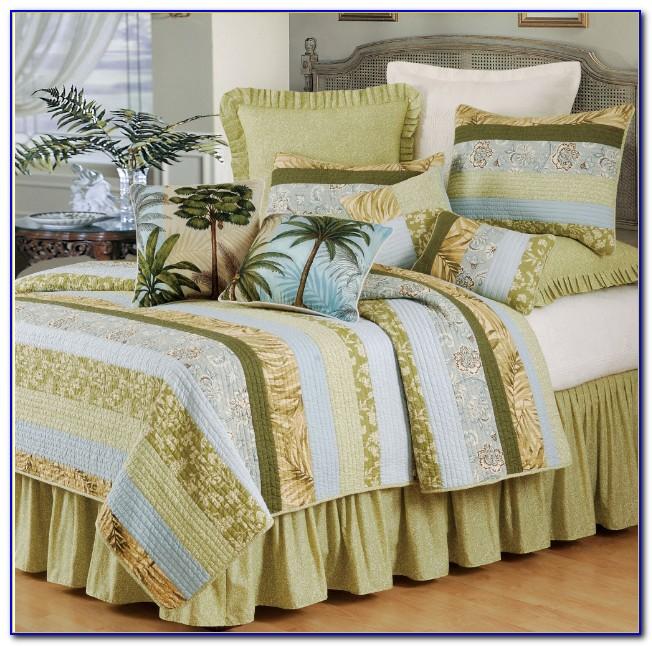 Palm Tree Bedding Quilt