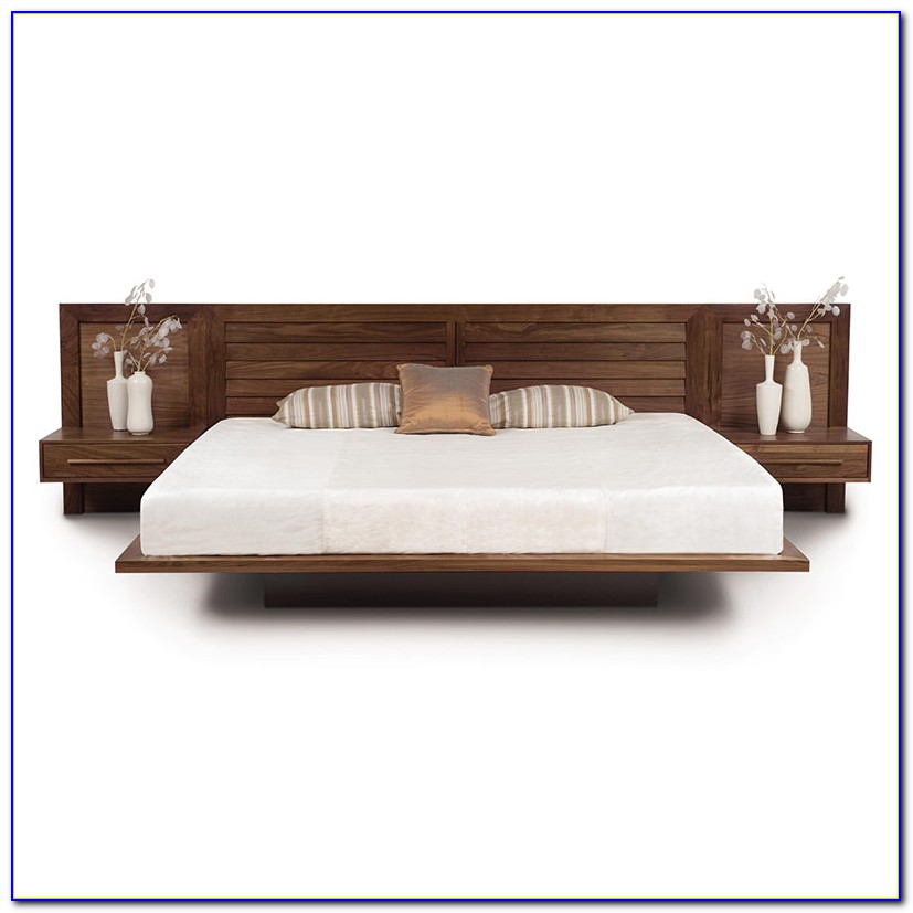 Platform Bed With Headboard And Footboard