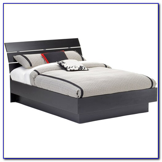 Platform Bed With Headboard Full