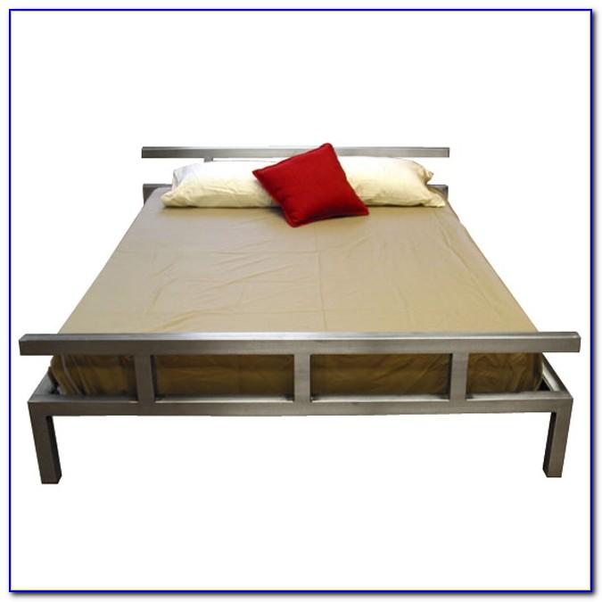 Platform Metal Bed Frame Or Mattress Foundation Queen