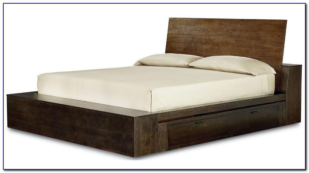 Platform Storage Bed Queen Plans