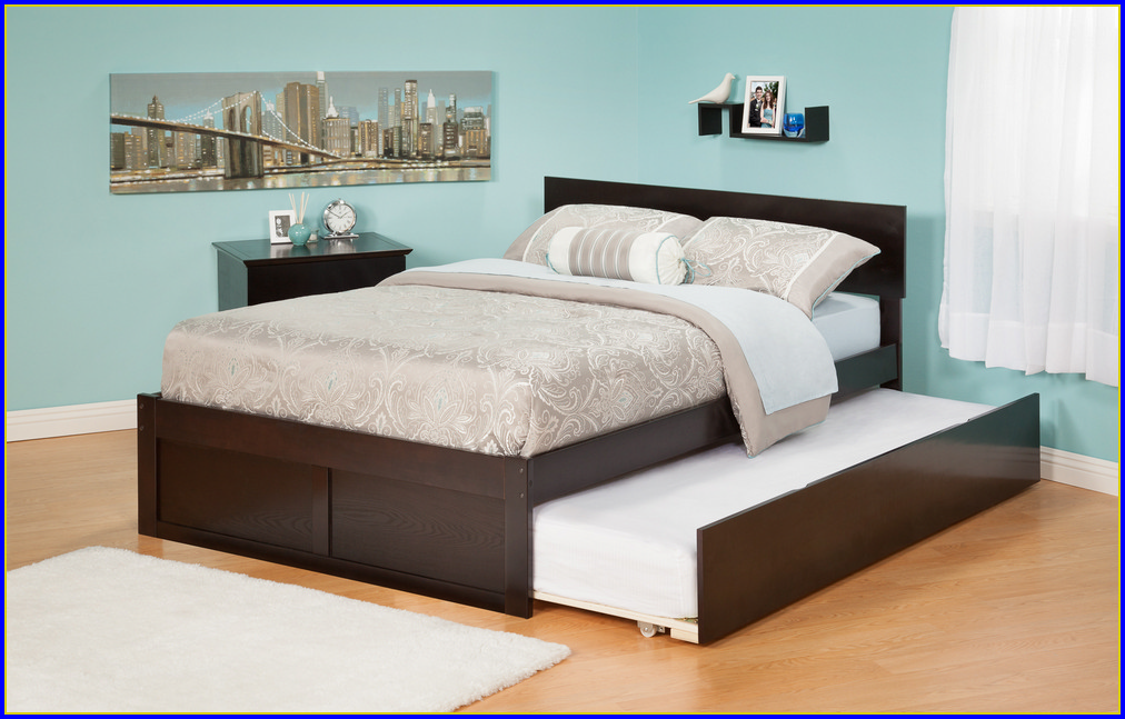 Queen Bed With Trundle Malaysia