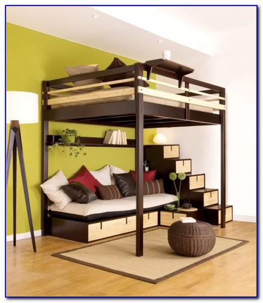 Queen Size Loft Bed Frame Plans