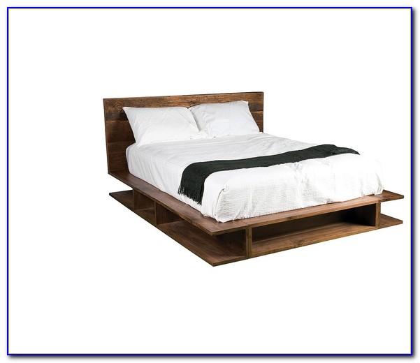 Reclaimed Wood Platform Bed Toronto