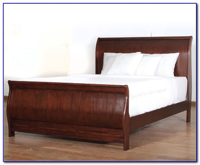 Sleigh Bed Frame Assembly