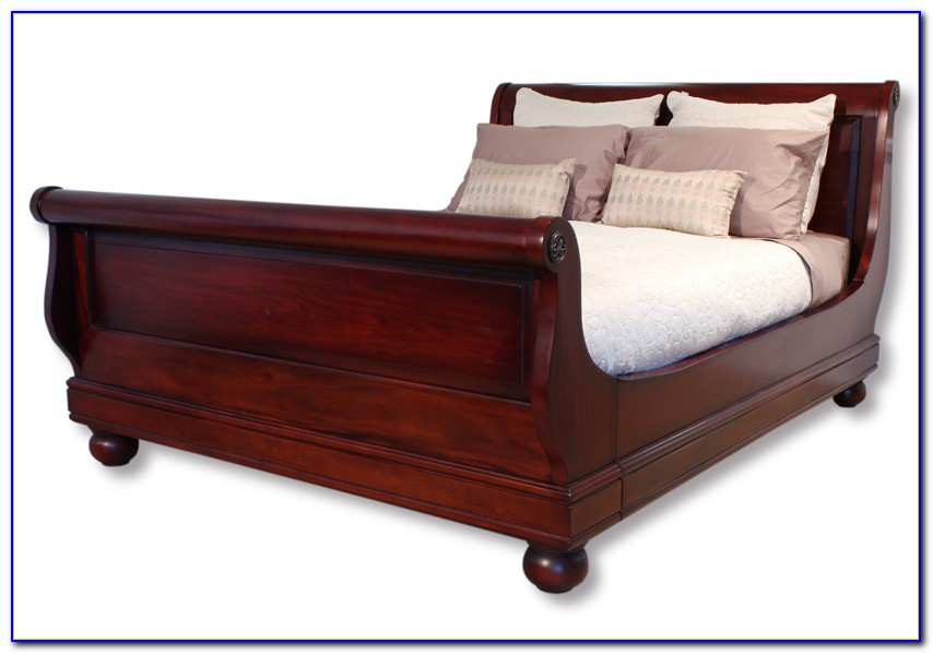 Sleigh Bed King Set