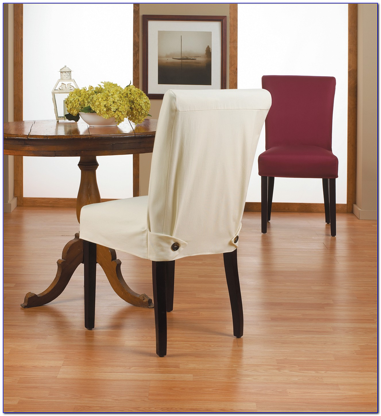 Slipcovers For Chairs With Wooden Arms