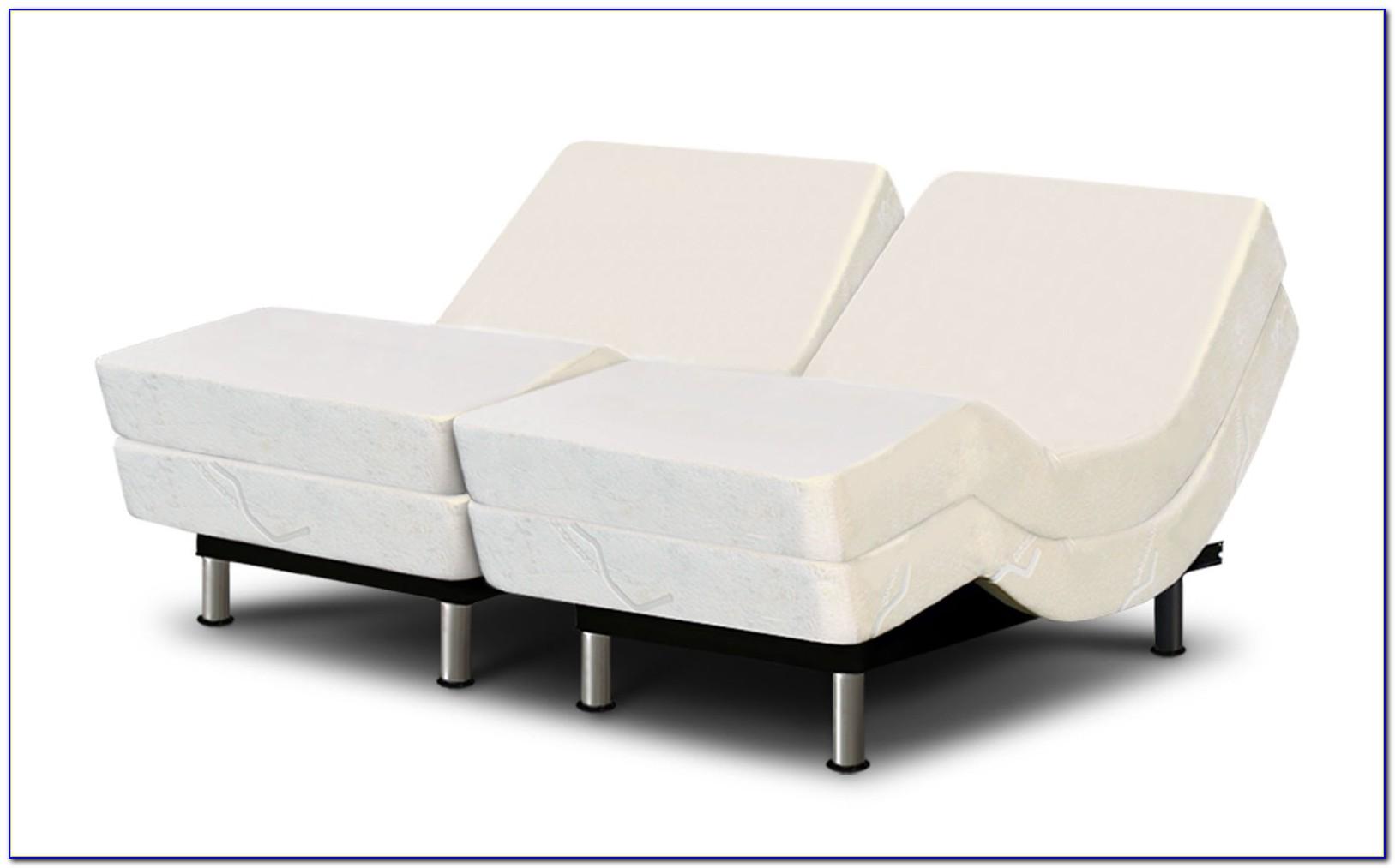 Split Queen Adjustable Bed Memory Foam Mattress
