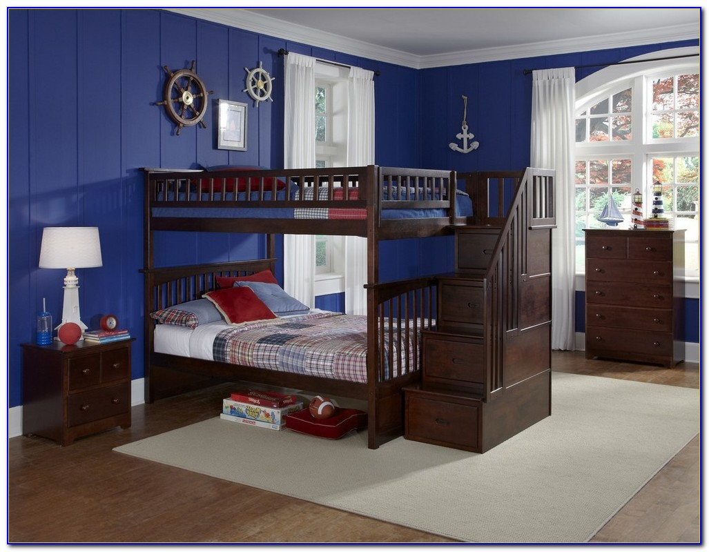 Staircase Bunk Bed Plans