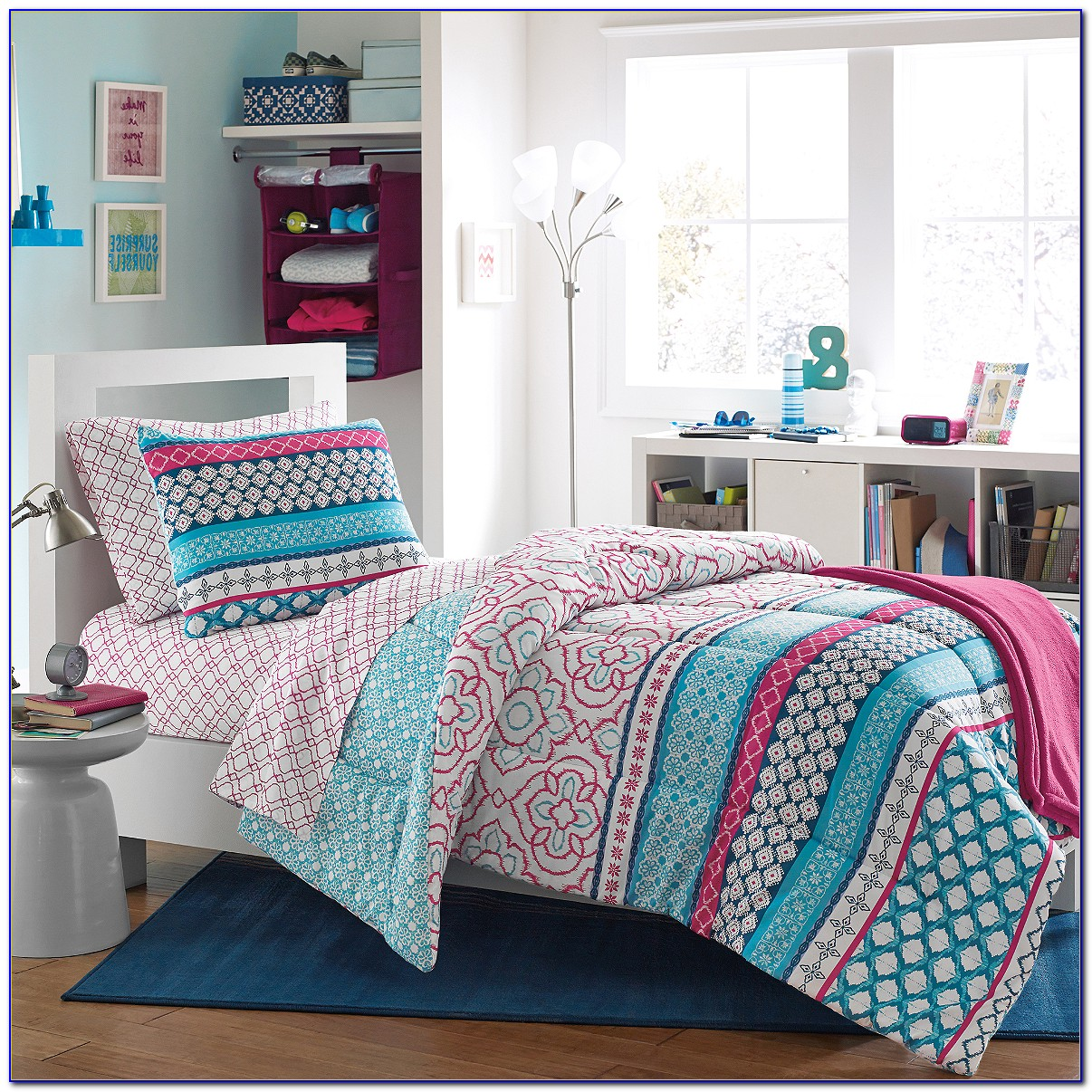 Target Dorm Bedding White
